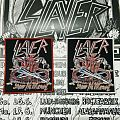 """Slayer """"Show No Mercy"""" woven patch"""