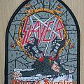 "Slayer ""Altar of Sacrifice"" woven patch"