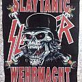 """Slayer """"Slatanic Wehrmacht"""" vintage backpatch"""