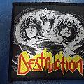 "Patch - Destruction ""Eternal Devastation"" vintage patch"