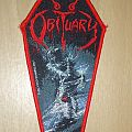 Obituary - Cause of Death (Bang-cock tour) official woven patch