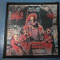 """Patch - Death """"Scream Bloody Gore"""" Full color woven patch"""