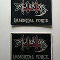 "Mutilator ""Immortal Force"" woven patch"