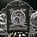 """Thin Lizzy """"Thunder and Lightning"""" tour 83 Patch"""