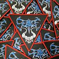 """Seance """"Fornever Laid To Rest"""" Official woven patch lim.100"""