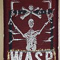 WASP - S/T vintage patch for Lef_Deppard