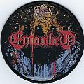 Entombed - Clandestine woven patch (Bootleg)