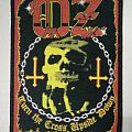 """Official OZ """"Turn the Cross Upside Down"""" woven patch"""