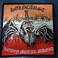 """Patch - Holocaust """"Heavy Metal Mania"""" woven patch"""