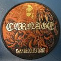 """Patch - Carnage """"Dark Recollections"""" woven patch"""