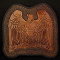 Manowar Battle Hymns leather back patch
