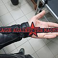 Rage Against The Machine - Patch - Rage Against the Machine // Logo-Shape Backpatch
