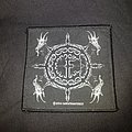 Goat's head woven patch
