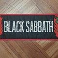 Black Sabbath Henry/Cross Superstrip  Patch