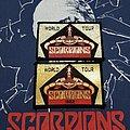 Vintage SCORPIONS Wold Tour 1982 Patch
