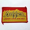 """Vintage DOKKEN """"Under Lock And Key"""" 80's Patch"""