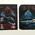 "Vintage DIO ""Dream Evil"" Woven and Printed patch"