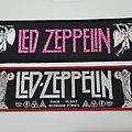 Vintage Led Zeppelin superstrip' 1980's Patch