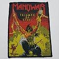 Vintage MANOWAR Triumph of Steel ©1992 Concert Merch Patch