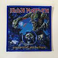 Iron maiden the final frontier woven patch