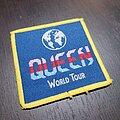 Queen - Patch - Vtg Queen 'World Tour 1980'