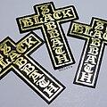 Black Sabbath - Patch - Vtg Black Sabbath 'Leather Cross'