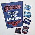 Saxon - Patch - VG Saxon 'Denim and Leather & Tour' Set