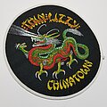 Thin Lizzy - Patch - Vtg Thin Lizzy 'Chinatown'