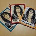 Alice Cooper - Patch - Or Vtg Alice Cooper 'Kleintex set'