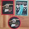 Magnum - Patch - MAGNUM  Merodeador & invasion Tour 1980