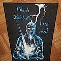 Black sabbath Live Evil Vintage BP Patch