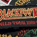 Blackfoot - Patch - Og Vtg Blackfoot 'MARAUDER' World Tour 1981-85