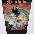 Rainbow - Patch - Vtg Rainbow 'Rising BP'