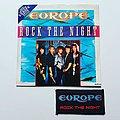 Europe - Tape / Vinyl / CD / Recording etc - Europe 'Rock The Night' Vinyl Single + Original Patch