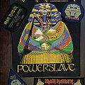 Iron Maiden - Patch - Og Vtg Iron Maiden POWERSLAVE &TOUR