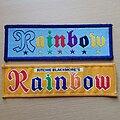 Rainbow - Patch - Vtg Rainbow 'Logos'