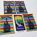 Rainbow - Patch - Vtg Rainbow 'Castle'