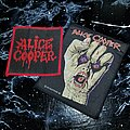 Alice Cooper - Patch - Og Vtg  Alice Cooper 'Raise Your Fist And Yell'