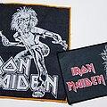 Iron Maiden - Patch - Vtg Iron Maiden & Sanctuary BP