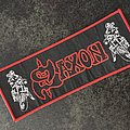 "Saxon ""Motorcycle Man/Rare Stripe"""