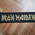Iron Maiden mini/stripe  Patch