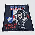 W.A.S.P. - Patch - Vtg W.A.S.P 'Blindin Texas'