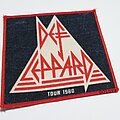 Def Leppard - Patch - Vtg Def Leppard 'On Through The Night Tour 1980