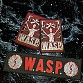 W.A.S.P. - Patch - Og Vtg W.A.S.P. 'Set'