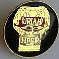 Uriah Heep - Innocent Victim VG Badge  Pin / Badge