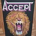 Accept - Lion - Vintage Backpatch