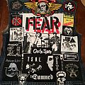 FEAR - Battle Jacket - My Skateboarding Meets Punk Tribute Vest