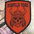 Manillia Road Shield Patch