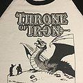 Throne Of Iron Baseball tee TShirt or Longsleeve