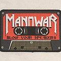 Manowar Cassette Patch